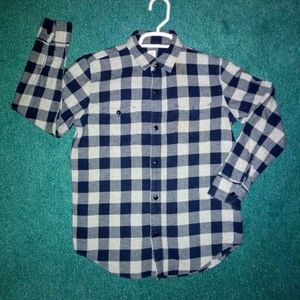 Boys Gap Flannel Button Down Shirt